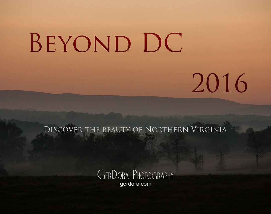 """Beyond DC"" 2016 GerDora Photography Calendar"