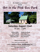 art in the pink box poster aug 22 2015