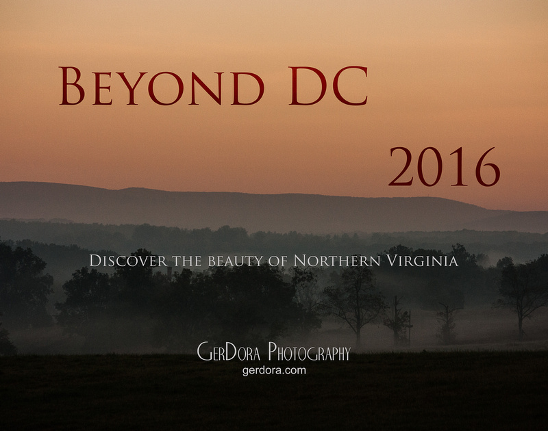 """Beyond DC"" 2016 GerDora Photography Calendar"
