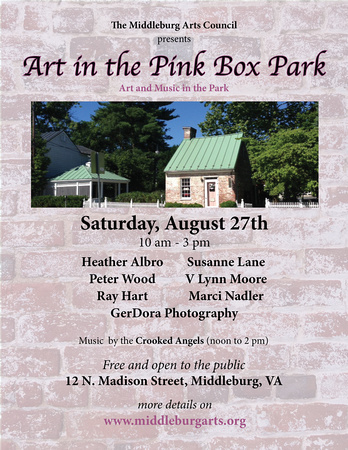 art in the pink box AUG poster 2016