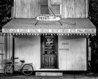 Fine art black and white photograph of Pepe's restaurant in Key West FL